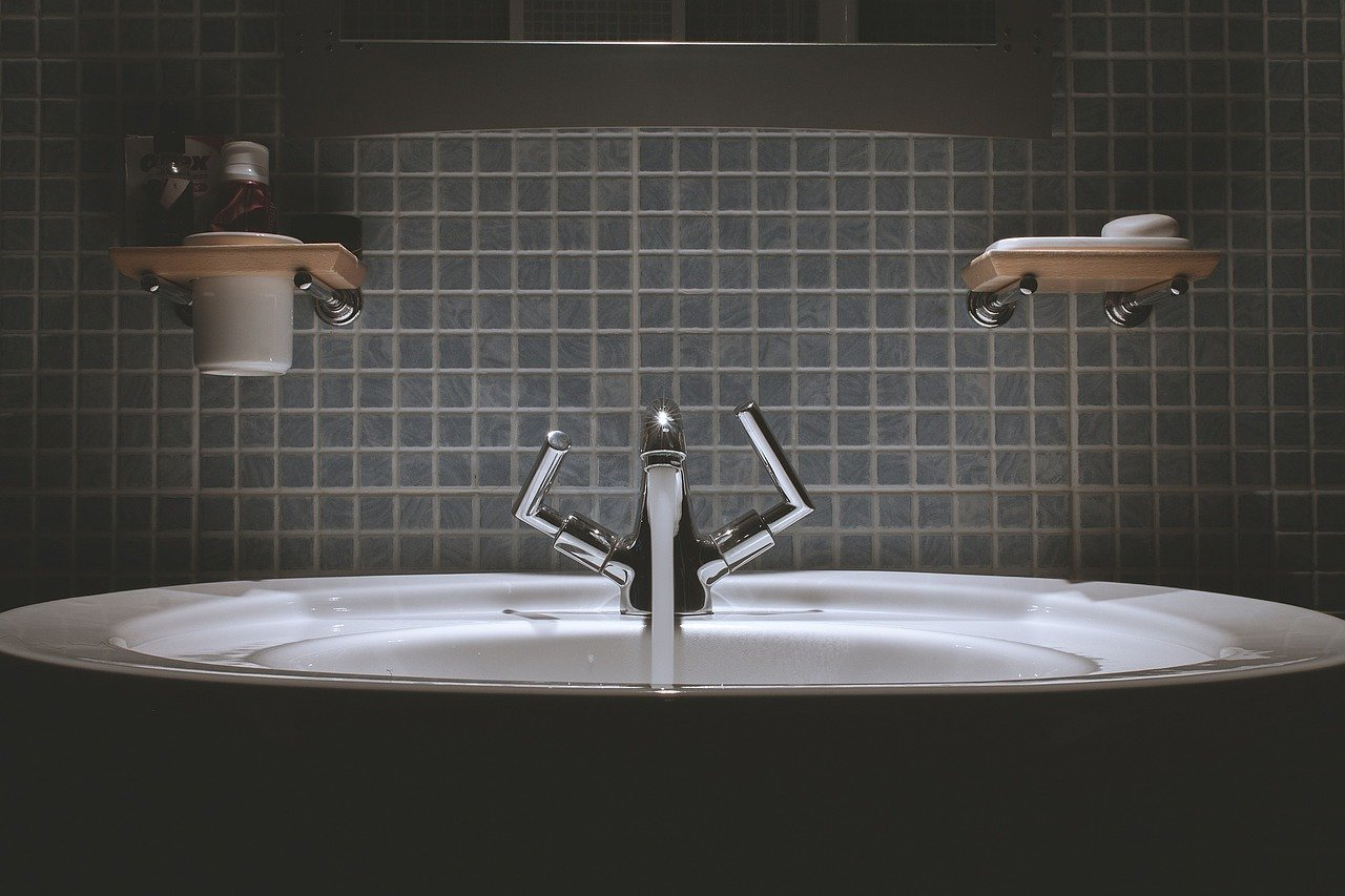 bathroom, sink, faucet
